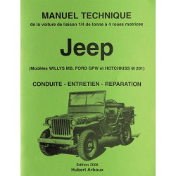 Manuel Technique - JEEP