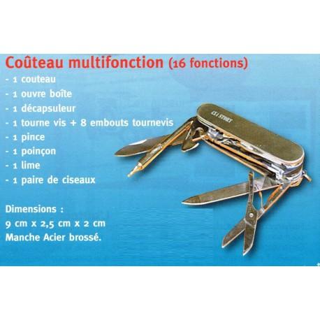 Couteau multifonction