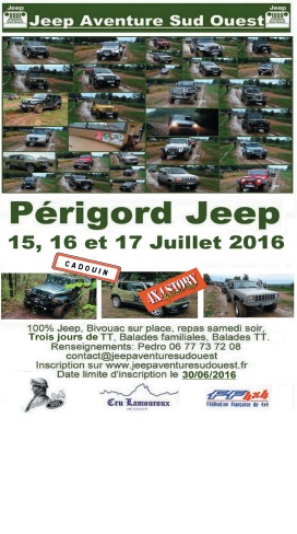 perigord jeep jeep aventure sud ouest 4x4 story. Black Bedroom Furniture Sets. Home Design Ideas